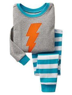 4065d7f65 Lightning bolt sleep set | Gap Little Boy Outfits, Toddler Boy Outfits, Toddler  Boys