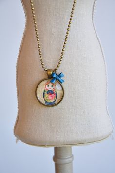 Nesting Doll Necklace
