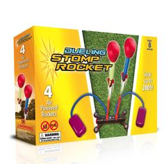 Dueling Stomp Rocket is the perfect gift for girls age 10 to play in the garden. A fab toy to play with friends.