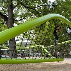 Sculptural Playground in Schulberg by ANNABAU « Landscape Architecture Works | Landezine