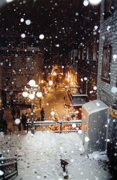 Christmas in Petit-Champlain, Quebec