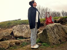 Dr Martens Siano and striped trousers Striped Pants, Dr. Martens, Trousers, Style, Fashion, Trouser Pants, Swag, Moda, Stripped Pants