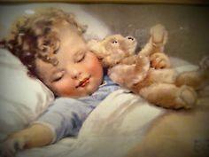 bessie pease gutmann prints | Bessie Pease Gutmann Framed Print 'Happy Dreams' | eBay