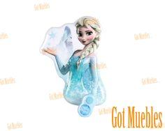 Lámpara infantil 3D para pared Funny Light Frozen  www.gotmuebles.mx