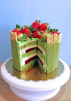 Food Cakes, Cake Recipes, Cake Decorating, Birthday Cake, Sweets, Kaffee, Cakes, Easy Cake Recipes, Gummi Candy