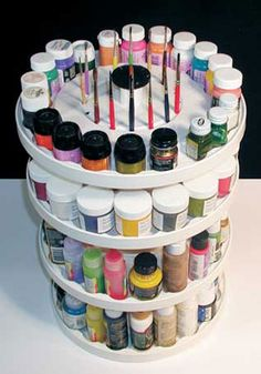 A paint organizer would be great to organize my paints...save me a whole lot of space.