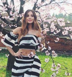 Cherry Blossom, Backstage, Strapless Dress, Glamour, Photoshoot, Instagram Posts, Dresses, Girls, Fashion