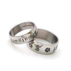 Titanium Steel Rings Couple Rings 16mm 18MM 19mm Fashion Jewelry Wholesale China Jewelry