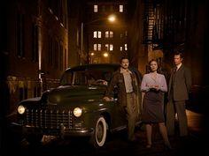 Marvel's Agent Carter - Howard Stark, Peggy Carter, Edwin Jarvis.