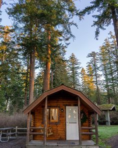 Get outdoors, but not too outdoors, on the cheap, with cabins along the beach, in the woods—or even on a small island. Half Moon Bay, Hello Seattle, State Park Cabins, Deception Pass, Get Outdoors, Small Island, Cabin Homes, Cabin Rentals, Staycation