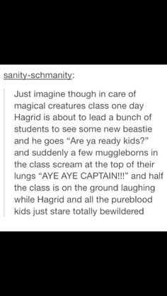 This would probably actually happen