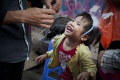 Schönes Lachen Vietnams