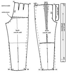 Hottest Pic sewing pants jeans Ideas Adapting pattern to zoot suit pants Pants Pattern Free, Suit Pattern, Sewing Pants, Sewing Clothes, Pattern Cutting, Pattern Making, Dress Sewing Patterns, Clothing Patterns, Retro Clothing