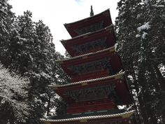Five-story tower in Nikko Toshogu