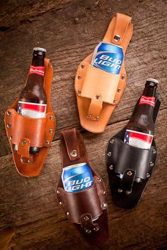 Beer Holster - Father's Day!  I would like to buy a few of these for my cans of soda for when I'm out landscaping & gardening.
