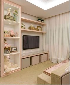 Bedroom Design Ideas – Create Your Own Private Sanctuary Baby Bedroom, Girls Bedroom, Bedroom Decor, Bedroom Ideas, Bedrooms, Diy Deco Rangement, Diy Zimmer, Girl Bedroom Designs, Dream Rooms