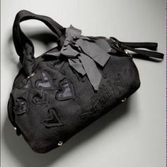 Lanvin Handbags - LANVIN Flat-Face Bowler Small Anthracite felt NWT