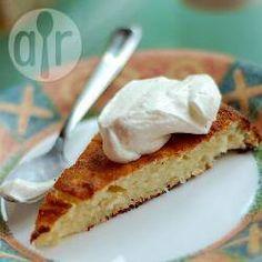 Torta de ricota com coco @ allrecipes.com.br