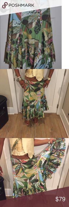 Anthropology harlequin peasant skirt Anthropology harlequin peasant skirt . Beautiful Anthropologie Skirts Circle & Skater