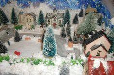 Paesaggio neve per Natale