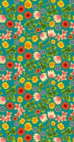 patterns.quenalbertini: Floral pattern | coquita