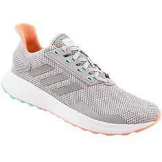 pretty nice 43e30 a5bd9 Adidas Duramo 9 Running Shoes - Womens Grey Coral Aqua Rogans Shoes,  Clothes 2019,