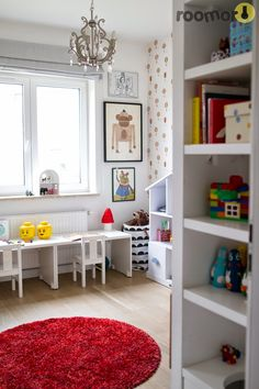 roomor! kid's room, shared room, room for two, kid'd desk