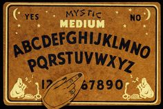 Mystic Medium, Medalie Manufacturing, Minneapolis, c. Witch Board, Dangerous Minds, You Never Know, Boards, Awesome, Spirit, Minneapolis, Mystic, Vintage