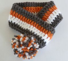Adjustable Crocheted Dog Collar Scarf or Pet by AllAboutMadison, $6.00