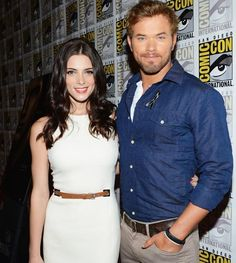 Celebs at Comic-Con 2012: Ashley Greene and Kellan Lutz #Twilight