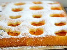 Obstfleck Apricot Cake, Apple Pie, Baking Recipes, Biscuits, Food And Drink, Pasta, Sweets, Bread, Cooking