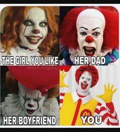 GRAPHICS /& MORE Scary Clown I Like You Kill You Last Funny Humor Ice Hockey Puck
