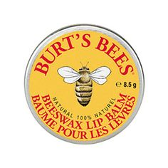 Beeswax Burt's Bees Lip Balm Give your lips the nourishing feeling they deserve. This natural lip balm is loaded with coconut and sunflower oils, rich in vitamins and essential fatty acids, to nourish, condition and soften lips. Beeswax seals in hydration. We've even added peppermint oil for a refreshing tingle #summerpicks @whitestuff