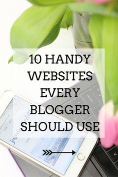 JC Tech: 10 Handy Websites Every Blogger Should Use