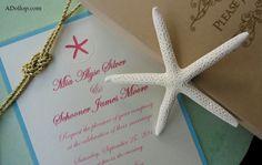 Schooner & Mia's Wedding Invitation