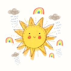"""""""Without the rain, there would be no rainbow."""""""