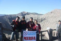 At gunung Bromo