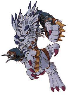 WereGarurumon based on a werewolf