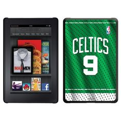 Rajon Rondo - Road Jersey Front design on a Black Thinshield Case for Amazon Kindle Fire by Coveroo. $39.95. This hard shell polycarbonate case offers a slim fit form factor, while covering the back and sides of your Kindle Fire