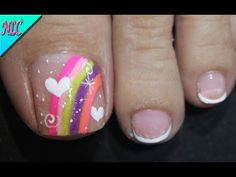 Toe Nail Designs, Toe Nails, Diana, Manicure, Nail Art, Bow Braid, Designed Nails, Simple Toe Nails, Pretty Toe Nails
