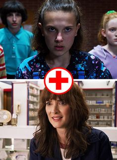 """Quiz: Which Two """"Stranger Things"""" Characters Are You A Combo Of? Stranger Things Characters, Quizzes For Fun, Sixteen Candles, The Neverending Story, Farrah Fawcett, Dead To Me, Orange Is The New, World Pictures, House On A Hill"""