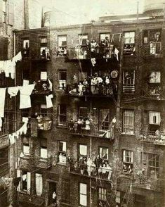 new york 1800's - lower east side tenements.