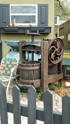 great old apple press