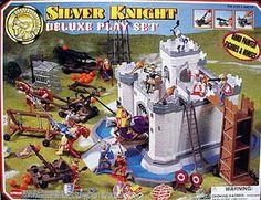 Silver Knights Deluxe HandPainted Figures Horses by LONLAR803, $39.00