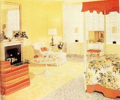 Bedroom. 1950s