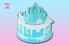 Torta Frozen, Ľadové kráľovstvo - korunka, Elsa