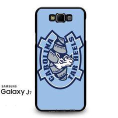 Nc Tarheels Logo On Blue Samsung Galaxy J7 Prime Case