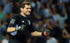 Íker Casillas agradece al presidente del Porto su apoyo