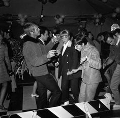 wandrlust:        Lee Marvin, Warren Oates, Steve McQueen, and Burt Reynolds at the wrap party for Point Blank, 1967.