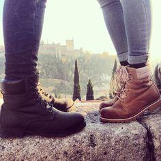 Granada, navidad 2014. Panama Jack, La Alhambra.